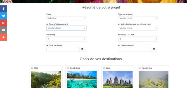 Tarif cr ation site internet tourisme et voyage sur mesure - Tarif escalier sur mesure ...