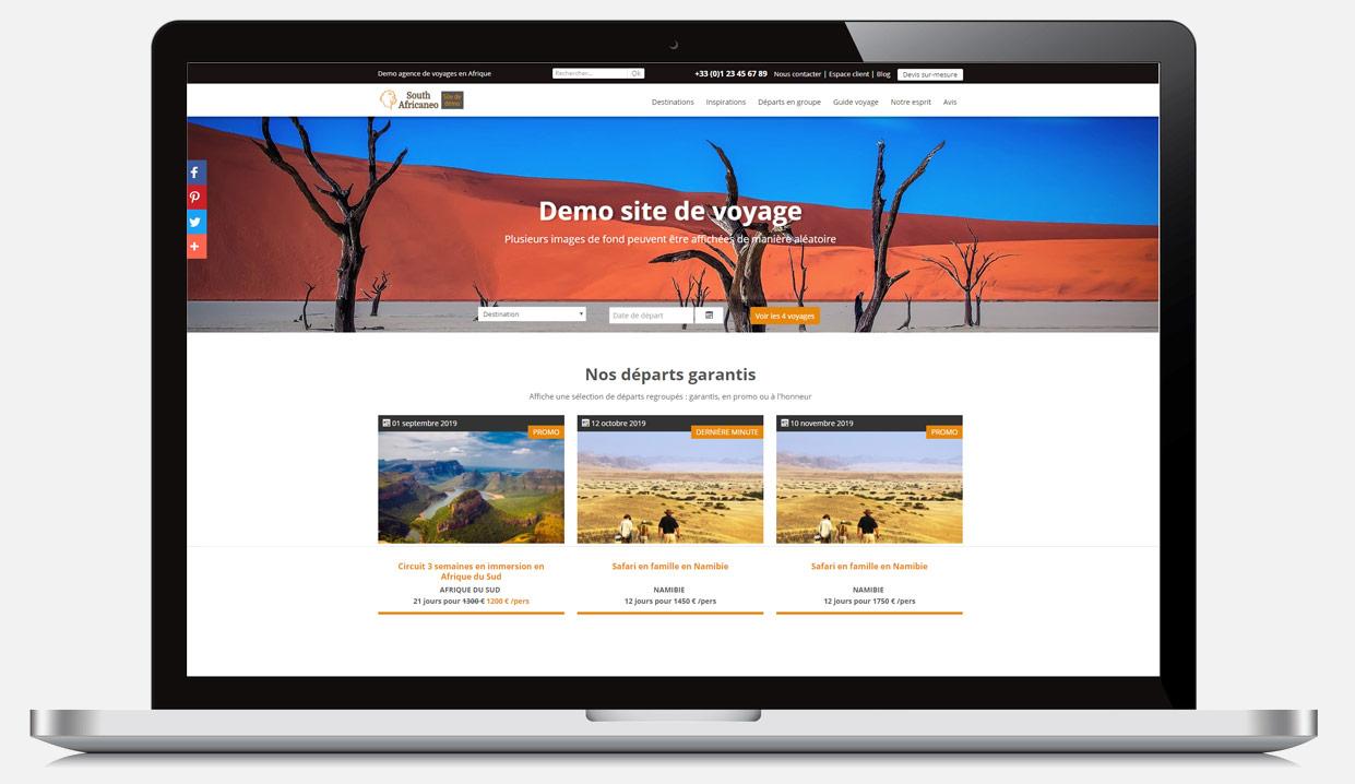 5b86bdbed39 Solution CRM et CMS voyages   Création site web tourisme   agence de ...